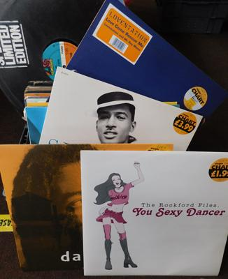 Box of records - Disco 12 inch singles