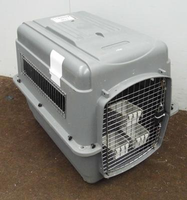 Dog travel cage for medium size dog