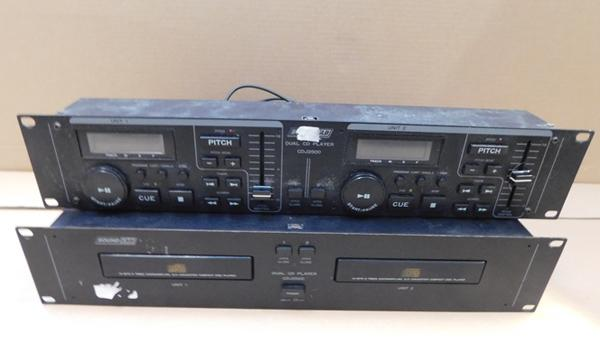 Soundlab dual CD player