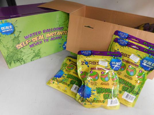 2x Boxes of self seal water balloons-20 packs in total