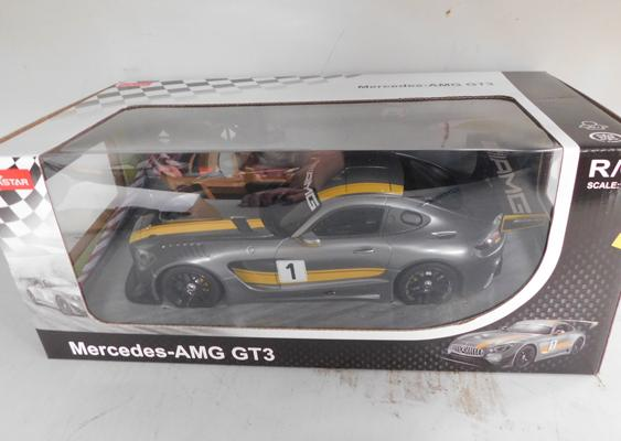 Mercedes AMG GT3 remote control car-boxed-never used
