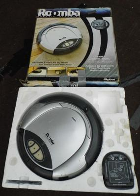 Boxed Roomba Robotic floor vac (no remote)