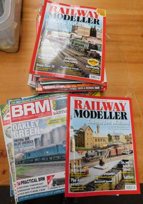 Selection of model railway magazines