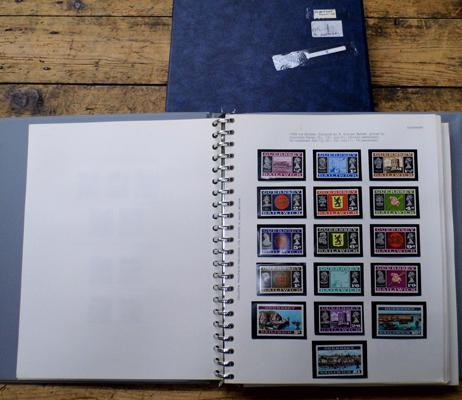 Fine collection of Channel Islands stamps in boxed album