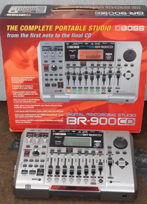 Boxed BR900 CD digital recording studio - not checked