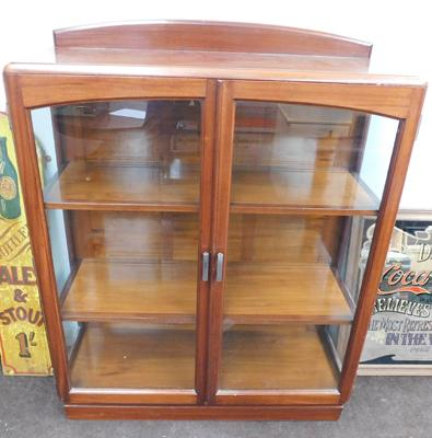 Glass fronted china display cabinet