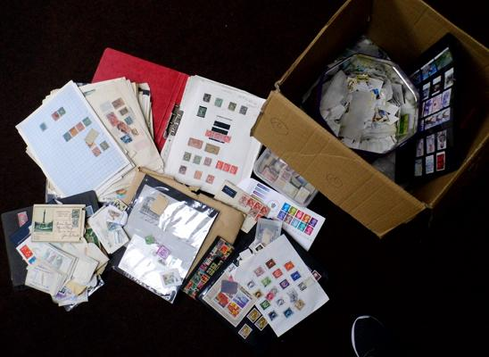 Large box containing quality stamps, Commonwealth etc...