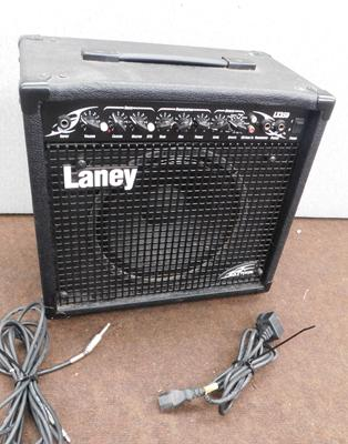 Laney Extreme LX35D guitar amp in W/O with leads