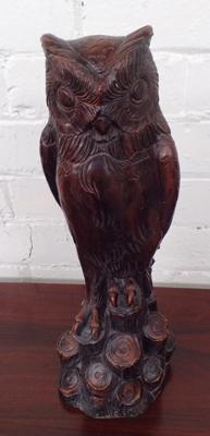 Large owl ornament