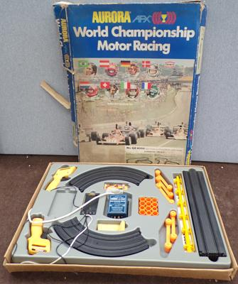 Aurora World Championship Motor Racing slot car set -only one car