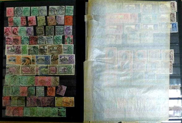 Fine collection of stamps from India, much earlier material