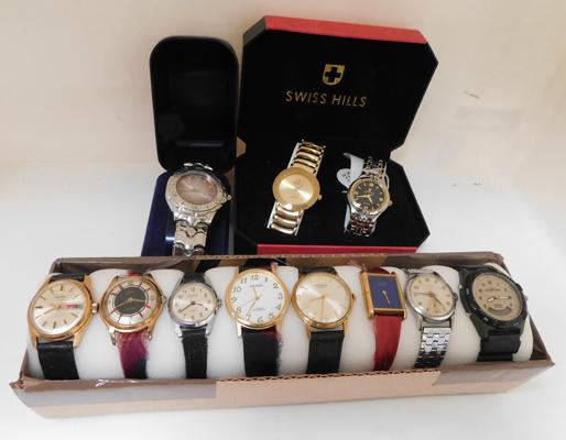 Assortment of gents watches