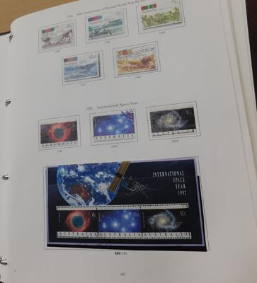 Stanley Gibbons printed album of Australian stamps