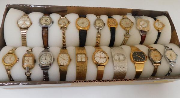 Assortment of ladies watches