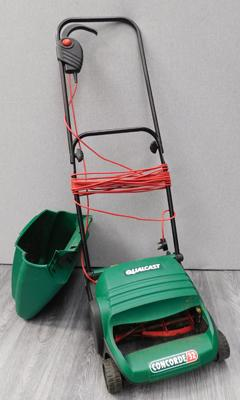 Qualcast electric lawn mower, little used