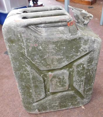 Vintage jerry can, dated 1952