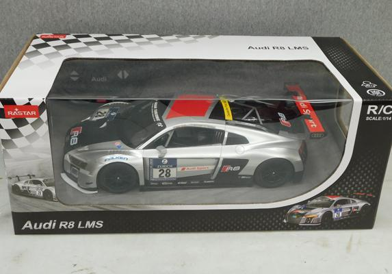 New/sealed radio controlled Audi R8 LMS