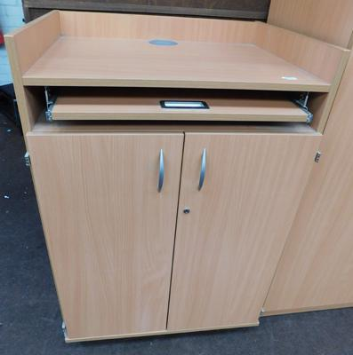 "Mobile lectern unit - 41"" tall"
