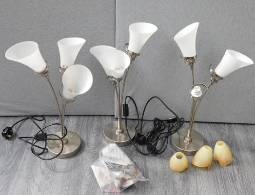 Large box of lamps etc...