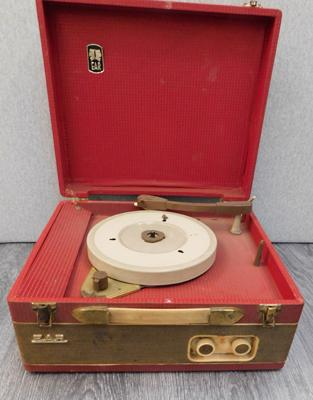 Vintage E.A.R. record player