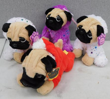 Four new pug dogs by Paws