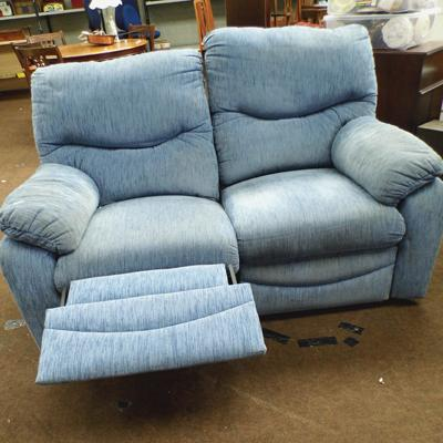 2 seater recliner settee