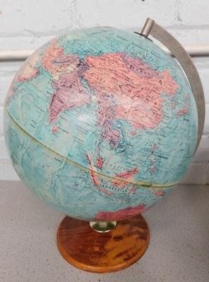 Phillips 12 inch stereo relief globe