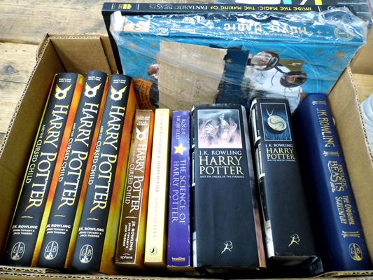 11 Harry Potter - Cursed Child/Fantastic Beasts books
