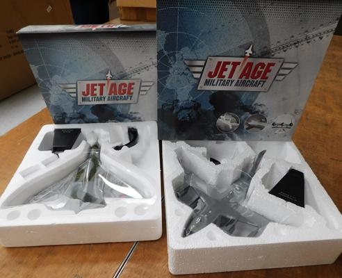 2 x Jet Age Military aircraft sets