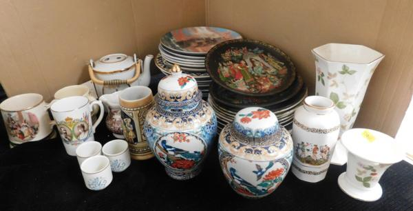 Assortment of ceramics incl. Royal Doulton, Wedgwood & Aynsley