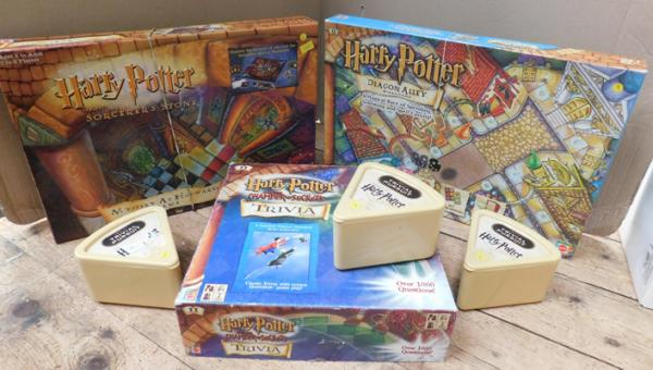 6x Harry Potter games - all complete