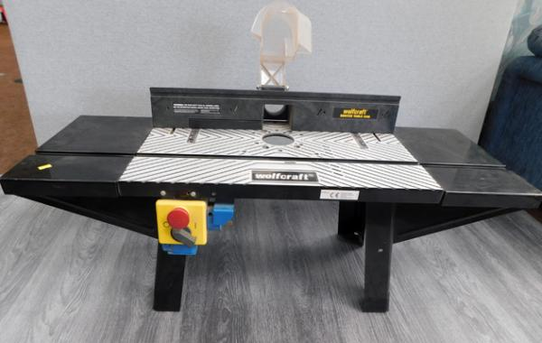 Wolfcraft router table 540 (unused) in W/O