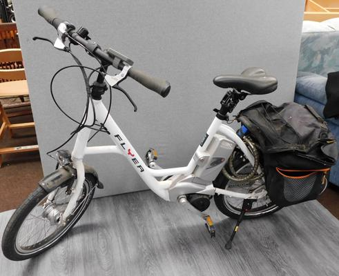 Electric flyer bike-unisex-no charger or key included