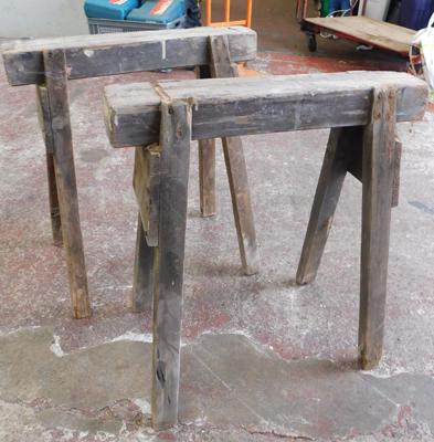 Pair of joiners work horses