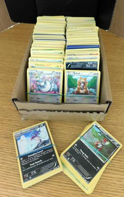 Assortment of Pokemon cards (approx 800/900 cards)