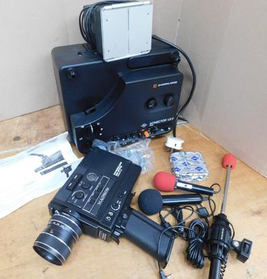 Magnam SD-8179 camera, recorder with microphone and accessories