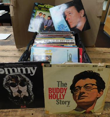 Large collection of LPs, incl. The Animals, Creedance Clearwater & Gene Vincent