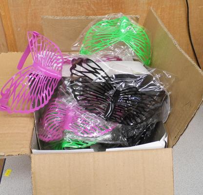 Box of novelty fancydress goggles/ glasses
