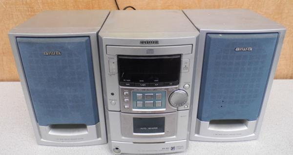 Aiwa CD player and speakers