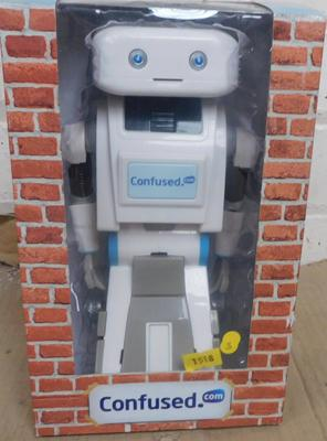 Brian electronic promo toy from confused.com