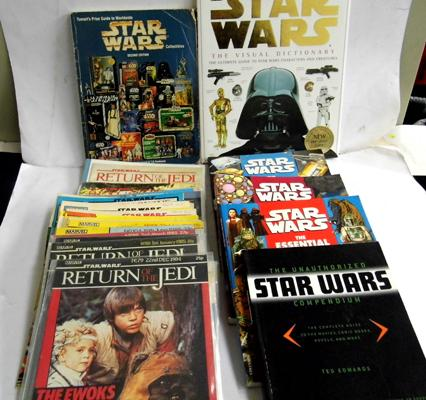 30 0riginal and rare Return of the Jedi comics, no duplicates all in excellent + condition with no pages missing, some may have addresses written on front or back. Copy of Tomarts Star wars toys price
