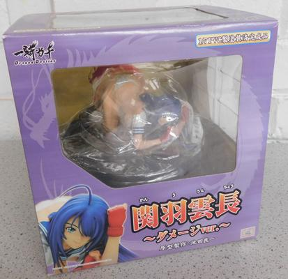 Collectable doll (Kanu Unchou) Dragon Destiny 2007 (sealed in box)