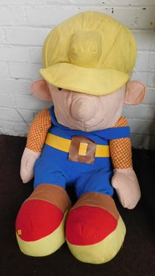 Vintage Studio prop - Bob the Builder - J.N.E.W. Productions, Hamburg, Germany - 40 inches