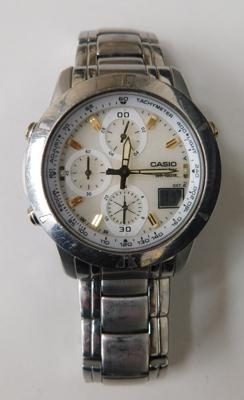 Casio Wave Ceptor chronograph watch