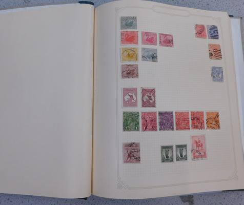 Album containing fine collection of early Commonwealth & World stamps