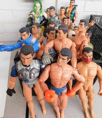 30 x Action Man figures