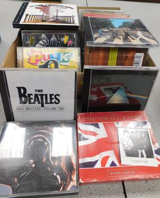 Great collection of CDs, incl. Stones, Beatles, Nirvana, Dylan, Pink Floyd, Small Faces, Hendrix, Deep Purple etc...