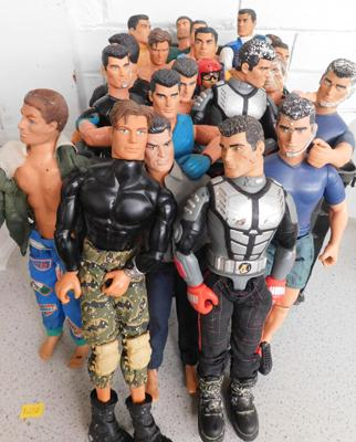 Action Man figures x 25