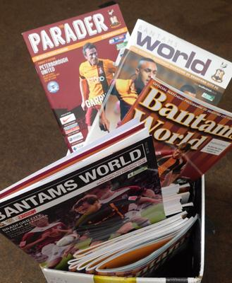 Collection of Bradford City programmes (84) approx 2006 - 2012