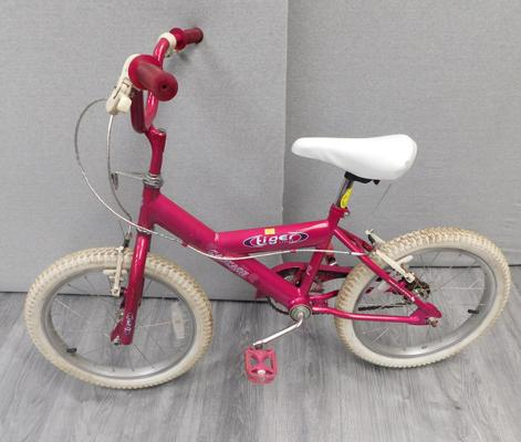 Tiger cycles,small girls bike - W/O